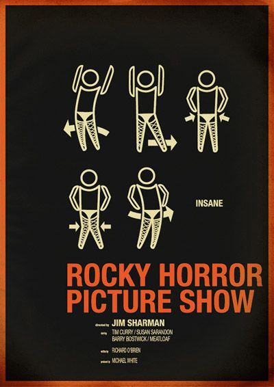 Rocky Horror Picture Show poster. So much awesome