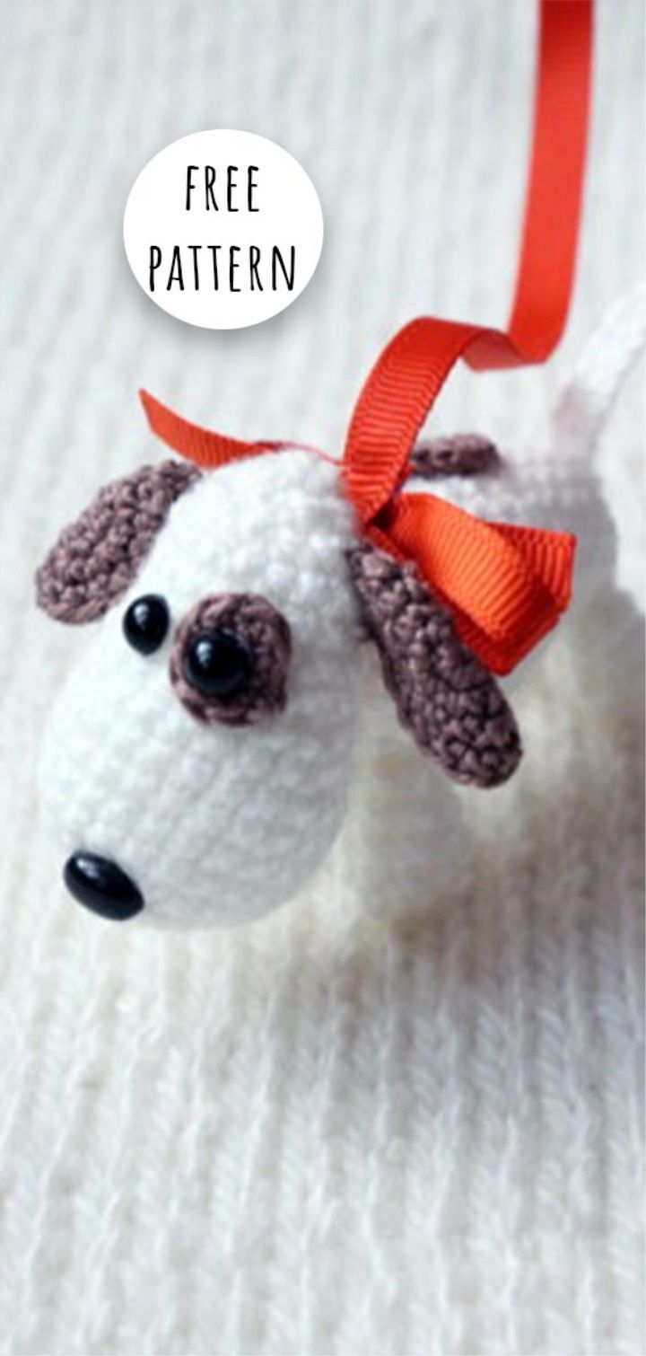 Amigurumi Cute Dog Free Pattern Bambolepupazzi E Altro