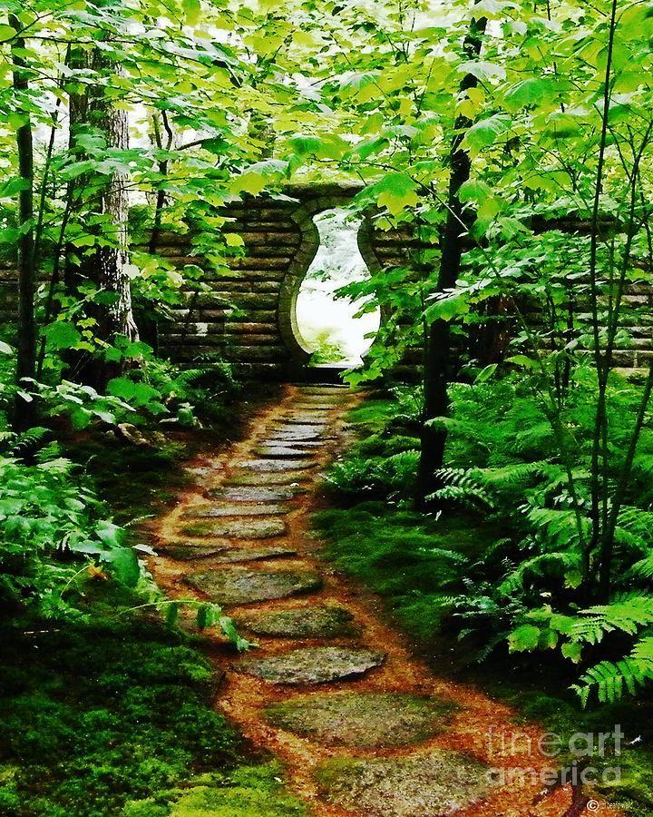 Abby Aldrich Rockefeller Oriental Garden Gate | Rockefeller, Gardens And  Maineu0027