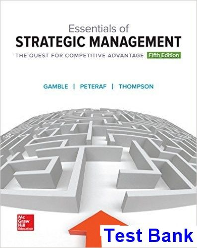50 best test bank download images on pinterest essentials strategic management quest competitive advantage 5th edition fandeluxe Choice Image