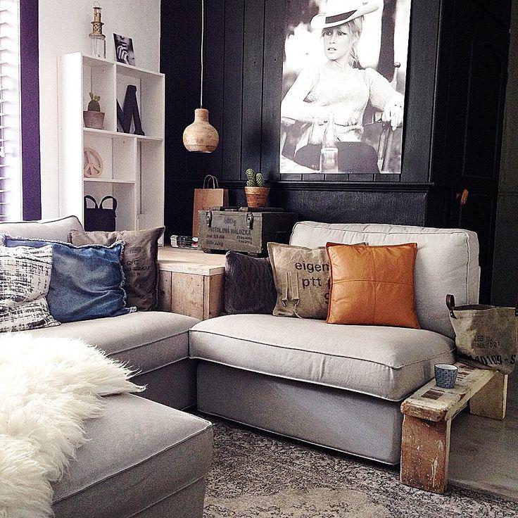 17 beste afbeeldingen over livingroom op pinterest open haarden kasten en huiskamers - Sofa stijl jaar ...