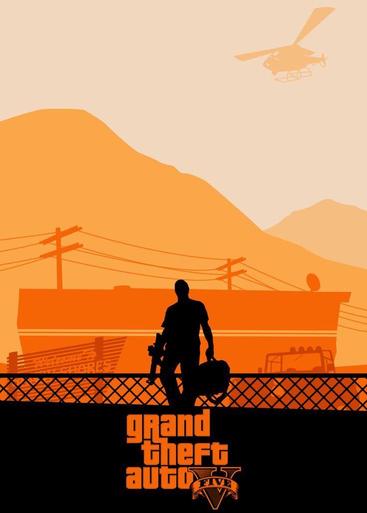 Grand Theft Auto poster Set - Album on Imgur