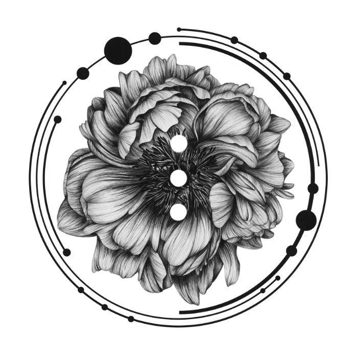 Elliptical II by The White Deer. Read our artist interview with Peony Yip and see more of her affordable art prints on theartfolk.com