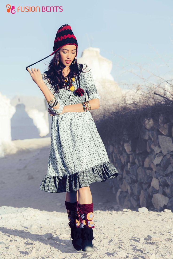 Wear it as a kurti or a dress. It will rock both the looks.