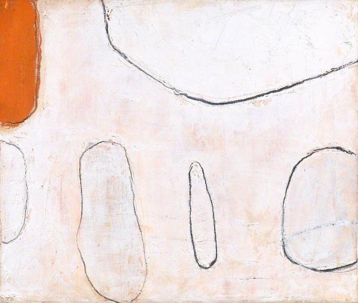 Orange and White, William Scott, 1962