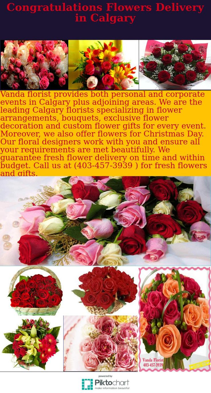 Vanda florist provides both personal and corporate events