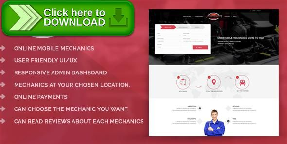 [ThemeForest]Free nulled download Online Automobile Mechanics or Mobile Car Repair Service Booking System - Auto Connect from http://zippyfile.download/f.php?id=50124 Tags: ecommerce, auto connect, auto mechanic near me, auto repair, auto repair near me, call mechanic online, mechanic online, mobile auto mechanic, mobile auto repair, mobile car mechanic, mobile car repair service, mobile mechanic near me, mobile mechanics, online automobile mechanics, repair mechanic, repair y