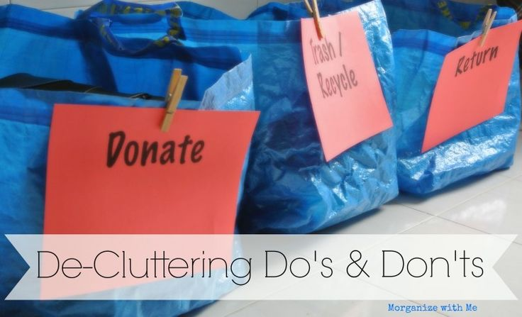 Declutter in no time by implementing this plan in to your home. Make room, reduce stress and feel good about your home again! Via A Bowl Full of Lemons