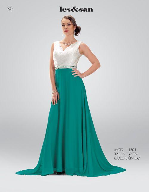 17b3a517087 Vestido para dama verde con blanco