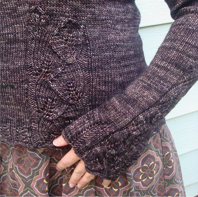Xl Sweater Knitting Pattern : Misses juniors knitting pattern fitted sweater jacket xxs