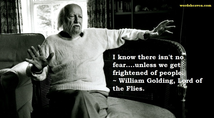 a report on lord of the flies by golding William golding's lord of the flies is an unfashionable aberration, a throwback to earlier, simpler forms of literature in which symbolic, fablelike elements predominate over psychological or social realism (magill 1126) lord of the flies, a.