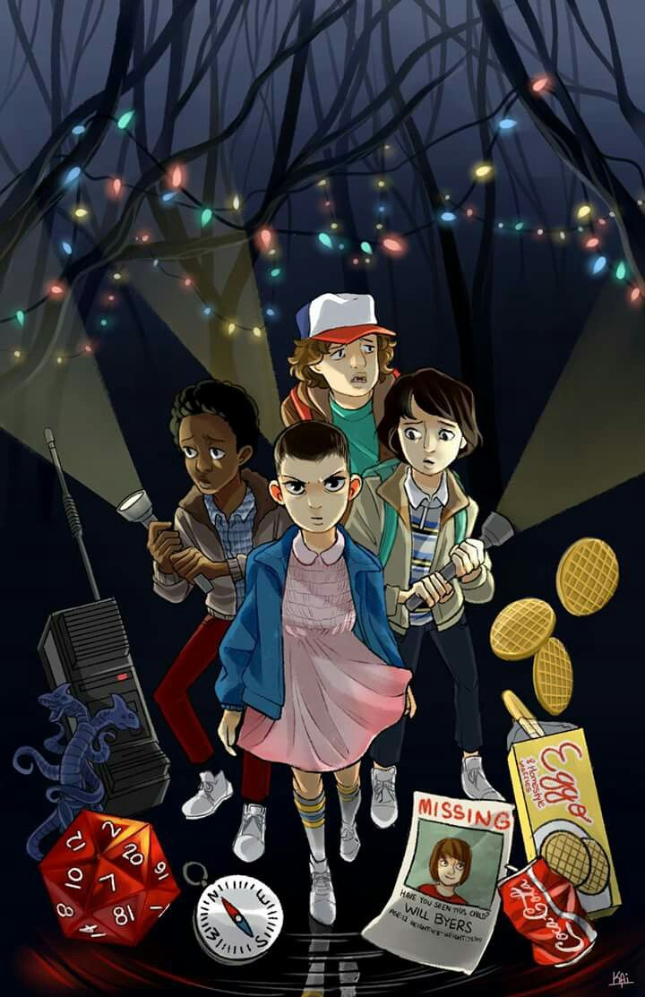Fanart stranger things