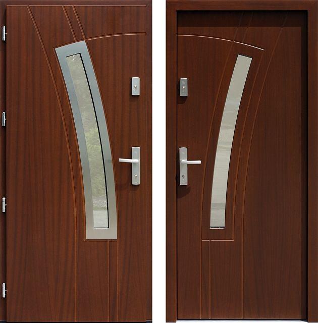 Drzwi wejściowe do domu z katalogu inox wzór 439,1-439,11