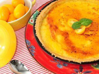 Hoja de impresión de Tarta de limón y naranja