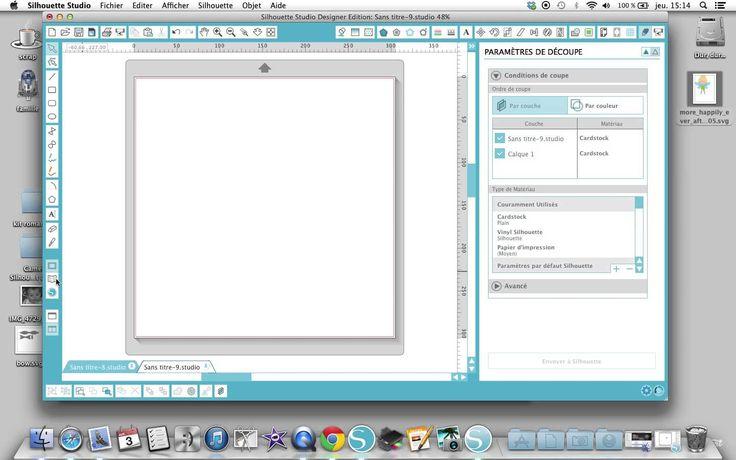 Le nouveau logiciel Silhouette version 3 (+playlist)