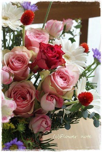 『【今日の贈花】出版記念に贈る祝花』 http://ameblo.jp/flower-note/entry-11757087421.html