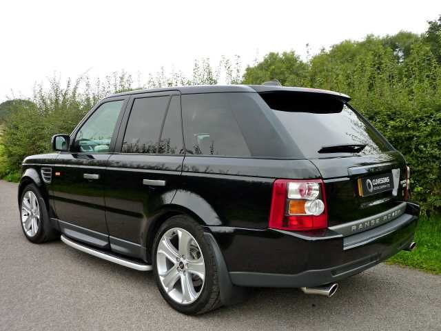 black range rover 2007 images. Black Bedroom Furniture Sets. Home Design Ideas