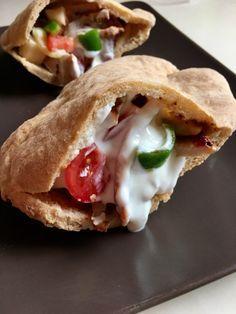 Pita Szafi Free világos kenyérlisztből