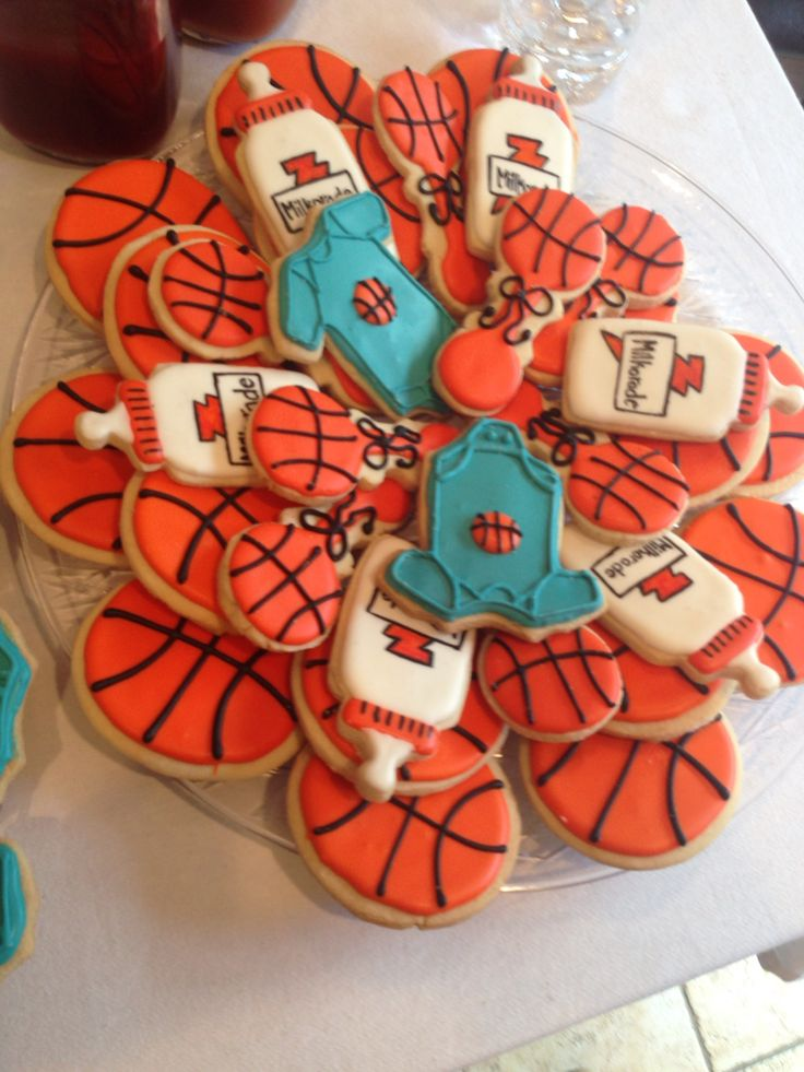 25+ best ideas about Basketball baby shower on Pinterest ...