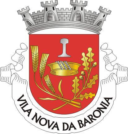Brasão de armas de Vila Nova da Baronia