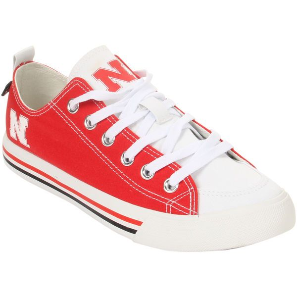 Nebraska Cornhuskers SKICKS Women's Low Top Sneakers - $44.99