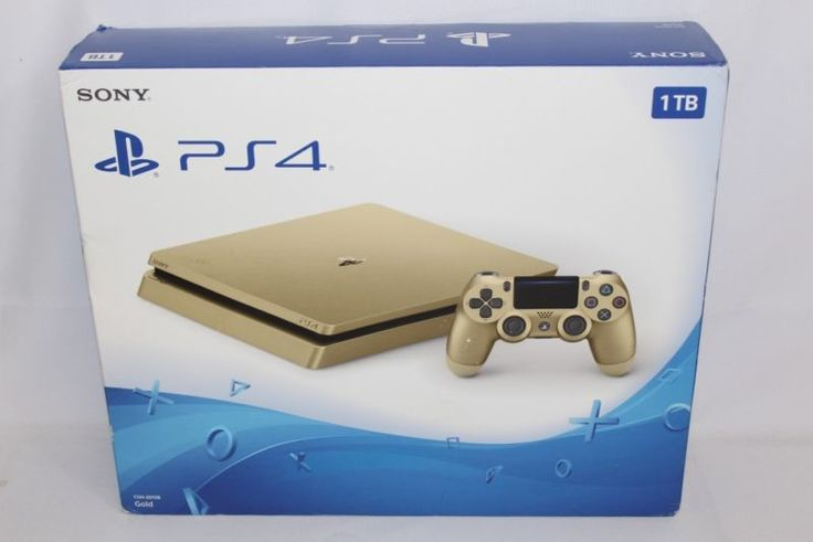 NEW Sony PlayStation 4 PS4 Slim 1TB Limited Edition Gaming Console GOLD This listing is for a NEW Sony PlayStation 4 PS4 Slim 1TB Limited Edition Gami... #gaming #console #gold #edition #limited #playstation #slim #sony