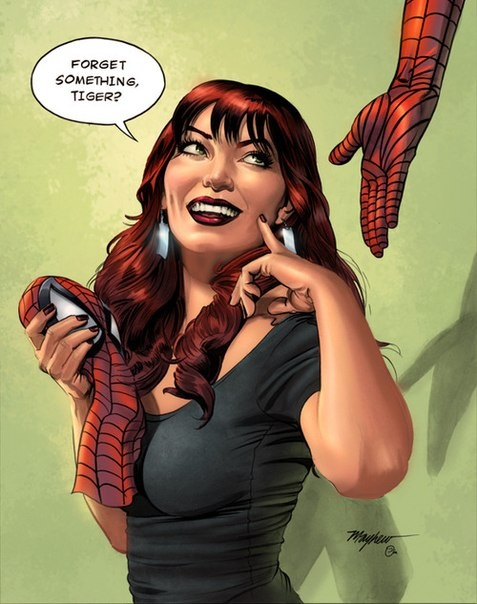 Mary Jane Watson | Places from Around the World 33 | Mary ...