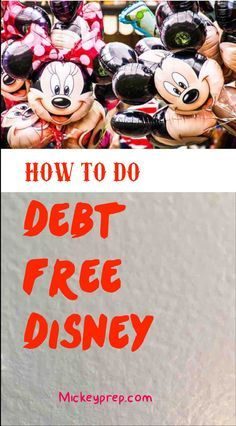 Debt free Disney
