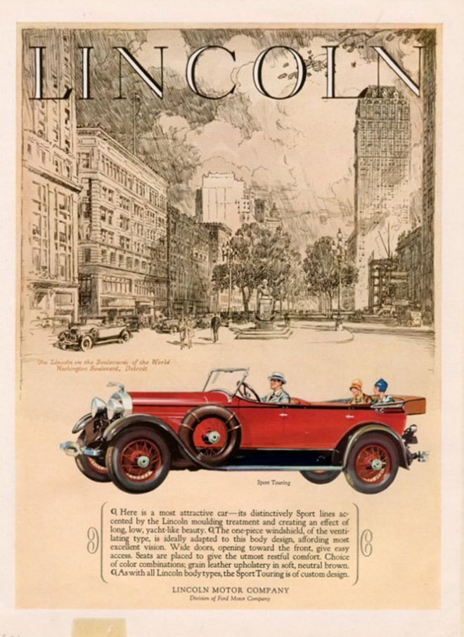 19 best lincoln car ads images on pinterest car posters for Lincoln motor company lincoln maine