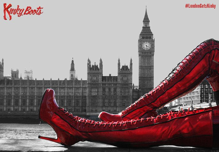 Kinky Boots begins previews at London's Adelphi Theatre on 21 August 2015 ♡ Inspired by true events, with songs by pop icon Cyndi Lauper, book by Harvey Fierstein, and direction and choreography Jerry Mitchell: http://www.lovetheatre.com/tickets/4200/Kinky-Boots?sid=PIN