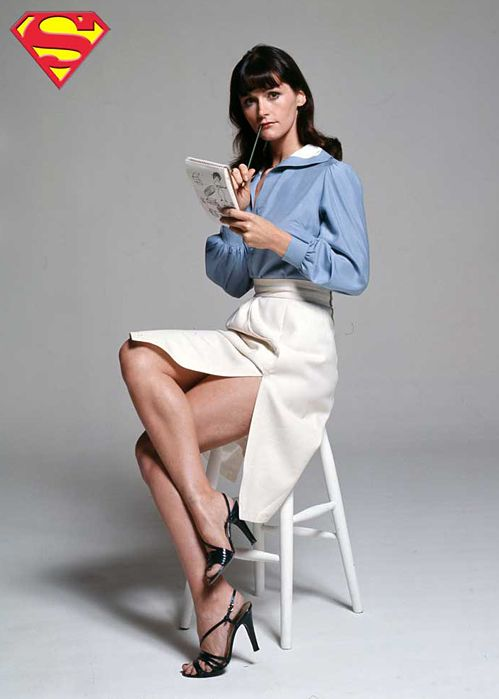 "Margot Kidder as ""Lois Lane"" in Superman (1978)"