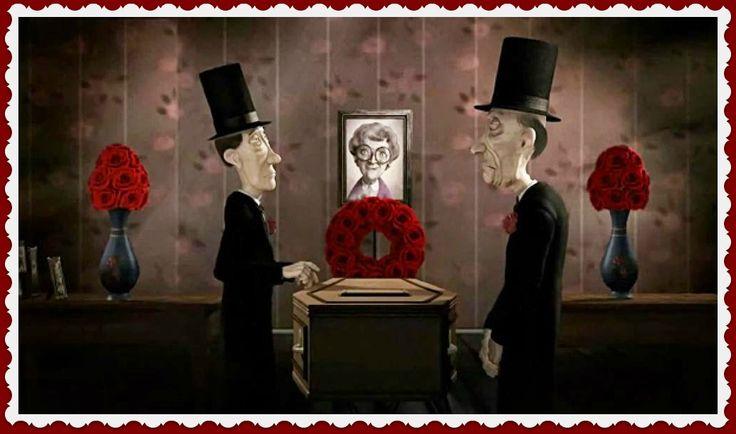 """""""THIS WAY UP"""" VALORES: HUMOR https://vimeo.com/album/2298055/video/102605293 Las peripecias de dos enterradores."""