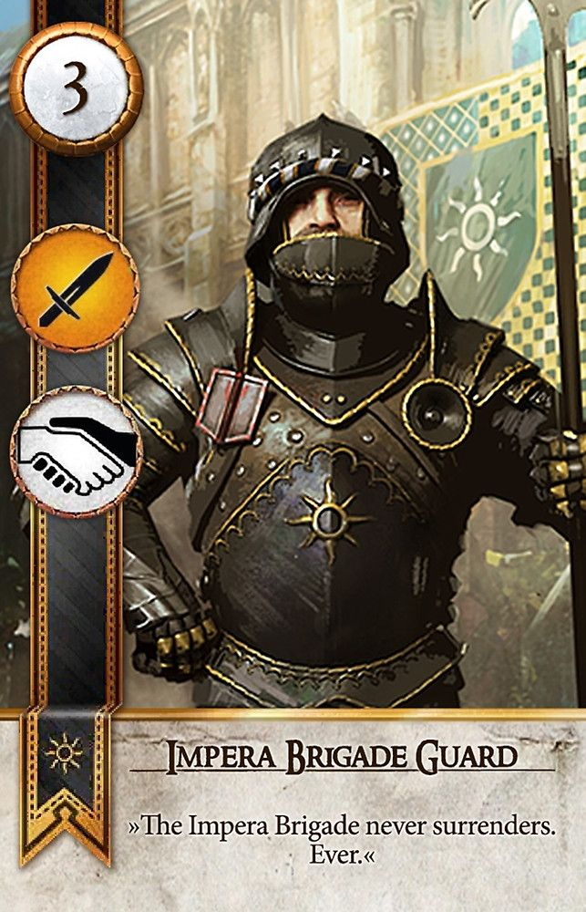 Impera Brigade Guard (Gwent Card) - The Witcher 3: Wild Hunt