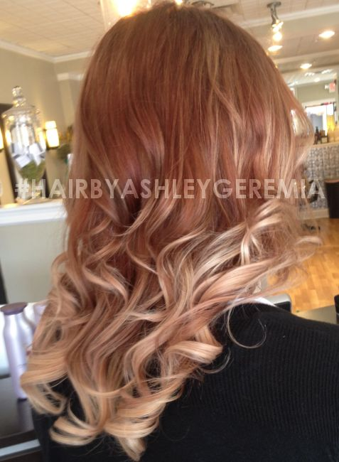 Ombre Blonde Ombre Strawberry Blonde Ombre