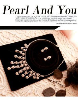 Korea feminine clothing Store [SOIR] Pearl and You (earring & Necklace Set) / Size : FREE / Price : 47.86 USD #korea #fashion #style #fashionshop #soir #feminine #dramatic #pearl #earring