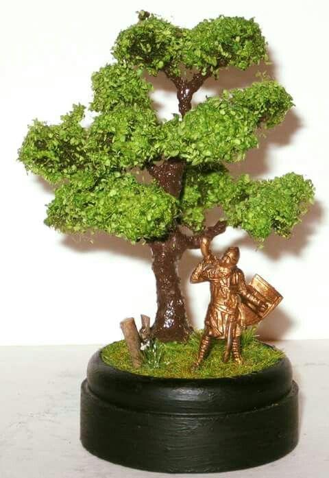 Diorama bonsai fantasy  Diorama bonsai fantasy. 20