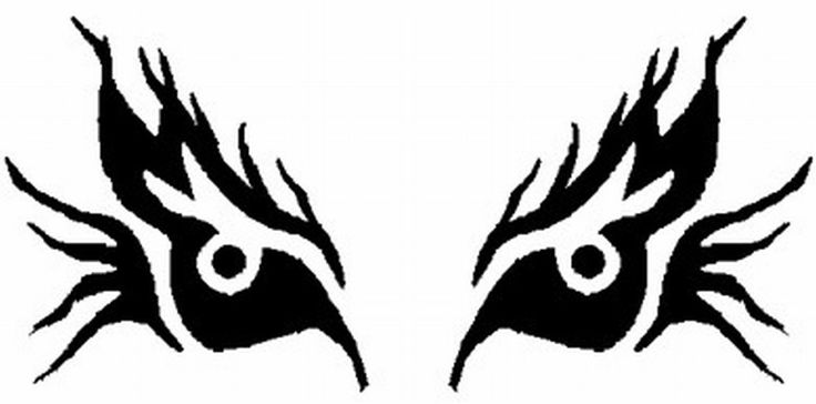 Witch eye pumpkin stencil pumpkin ideas pinterest for Evil pumpkin face template