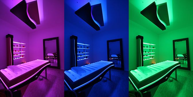 Change the color with Equilibrium cabin