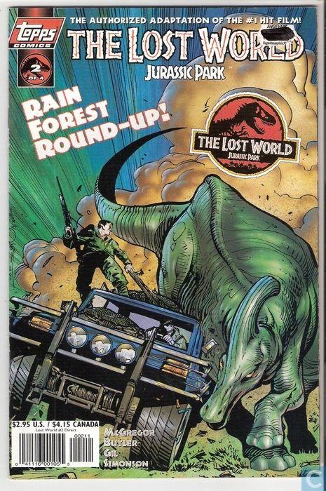 Jurassic Park Novel | Comic Books - Jurassic Park - The ...