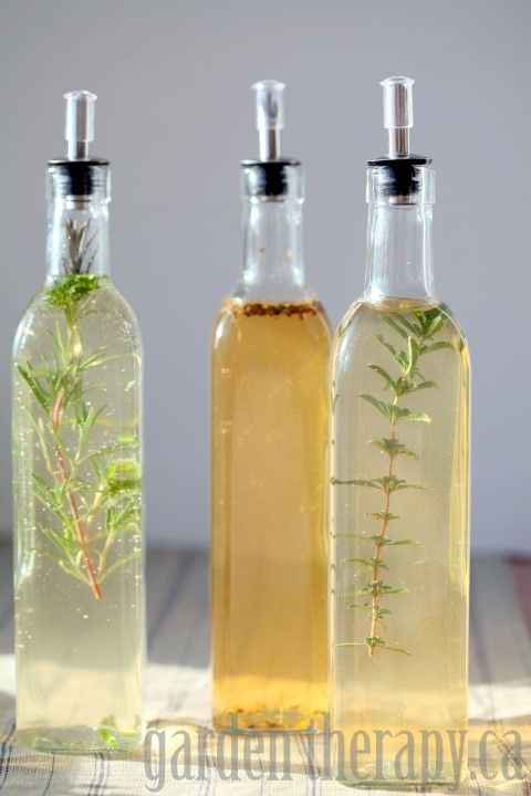 It's around this time, when I the vegetable garden is asleep for the year, that I depend on herbs for fresh favours. I grow such abundance that no matter how much I freeze and dry, I am always left with a whole bunch to give away. This year I thought of sharing herbs in a new way: flavored vinegars. Now ...
