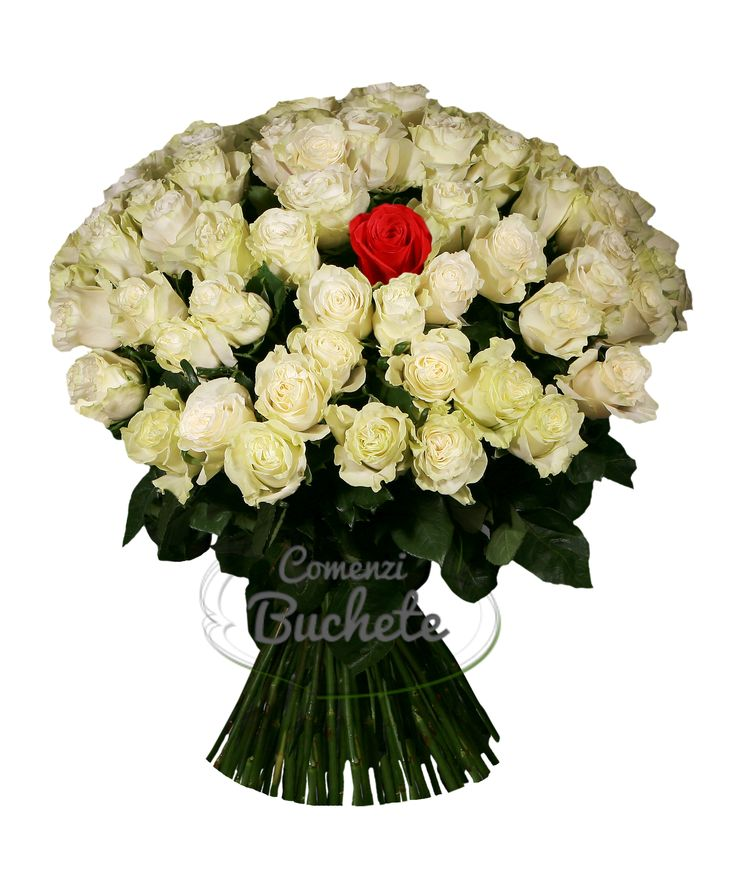 Buchet din 101 trandafiri, un cadou impresionant!