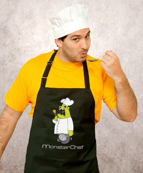 Monster Chef Cooking Apron Husband Gift Awesome Gift by store365