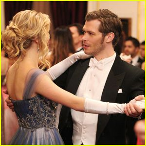 Klaus & Caroline Will Not Be Ignored in 'The Vampire Diaries' Series Finale | Candice King, Joseph Morgan, Julie Plec, The Vampire Diaries | Just Jared Jr.