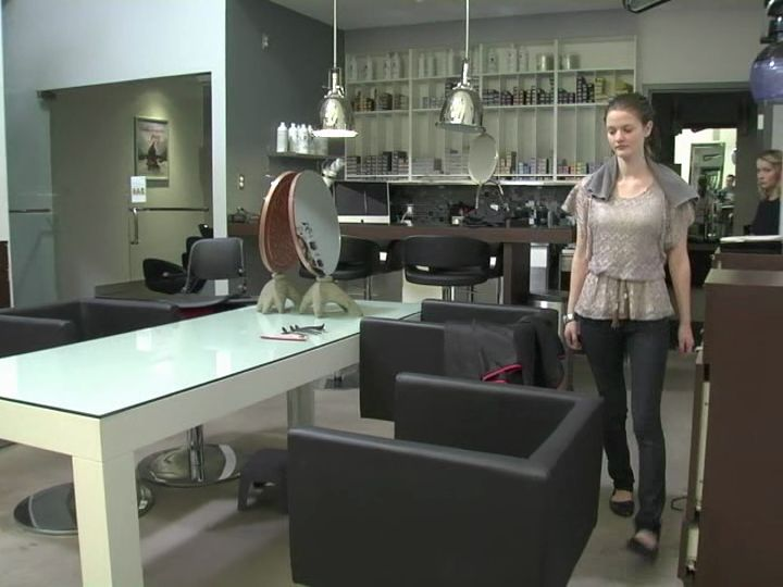 Photo salon adolescent