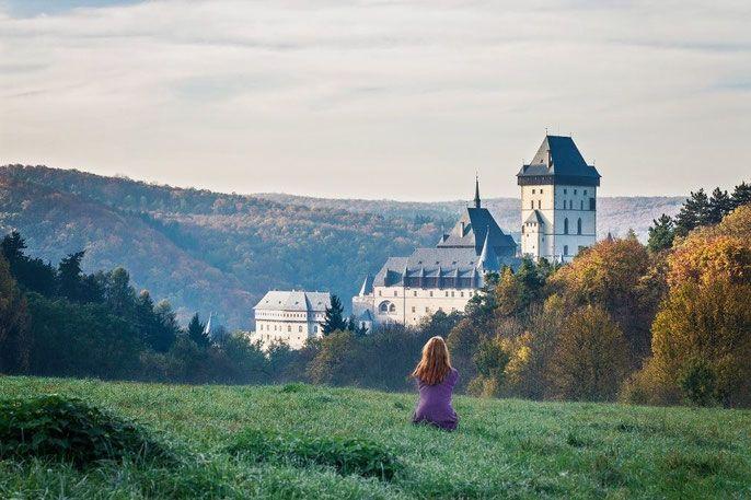 Karlstejn castle, central Czech Republic