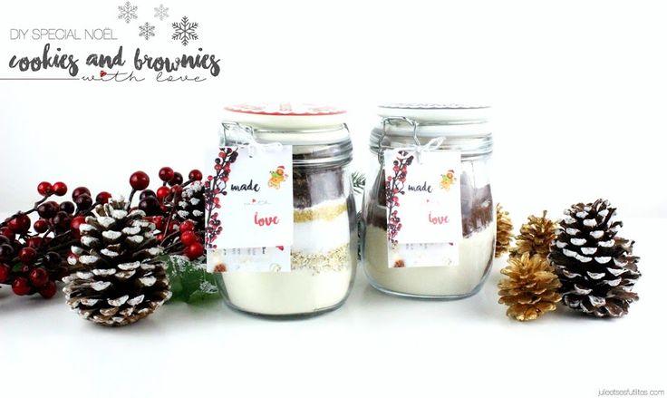 Julie et ses futilités | Blog beauté, revue, haul et blabla ! : DIY spécial Noël | Made with love, des bocaux à dé...