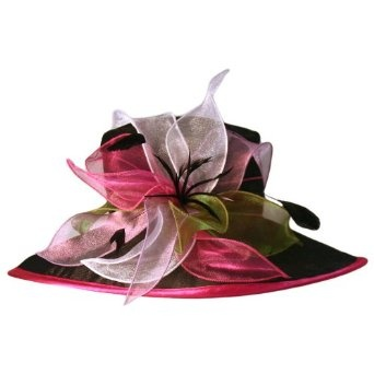 b8ea789844a84 Ladies fancy church derby hat...I wish I knew how to make hats ...