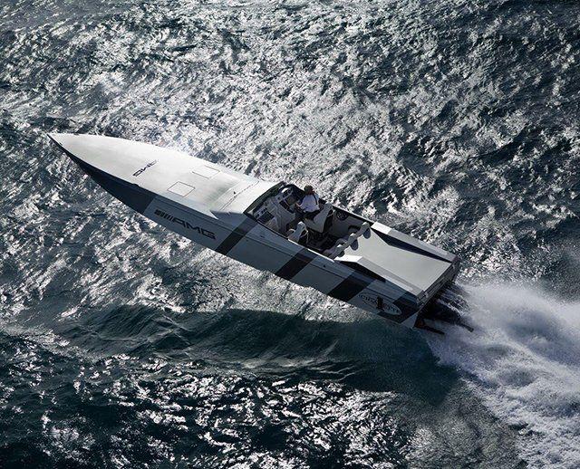 Mercedes AMG Black Series 50' Marauder Cigarette Boat