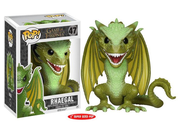 "Pop! TV: Game of Thrones - Rhaegal 6"""