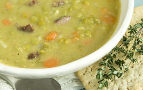 A perfect winter soup, filling and flavorful, you'll be glad this double recipe means leftovers! Carrots and garlic provide some antioxidant power. Round it out with a green salad and whole grain crackers.
